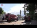 Крупный пожар в Воронеже