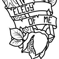 Логотип elegy of me