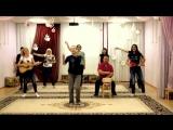 Детский сад- сюрприз от родителей ( по мотивам песни  Районы, кварталы-  Звери)  ( репетиция)