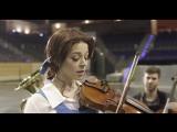 Крутое исполнение композиции из фильма «Красавица и чудовище» (Линдси Стирлинг)