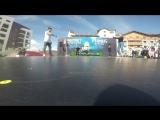 Enso vs Stefania   Snow dance battle