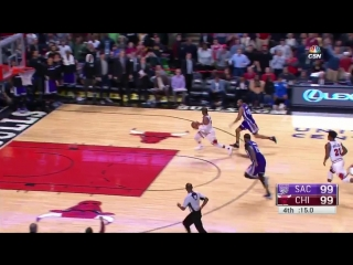 D-Wade shot free throws after THIS... Boogie called for a touch foul