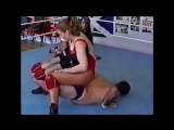 One Sided Mixed Wrestling (Female Win)