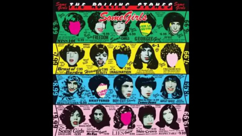 The Rolling Stones 1978 Some Girls