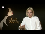 Interview Kristen Stewart on Cafe Society