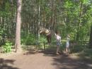 Прогулка по Челябинскому парку динозавров.