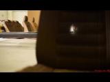 Модель автомобиля Lexus из картона в натуральную величину  (6 sec)