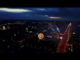 Салют День Города Новосибирск 25.06.2017 4К, квадрокоптер DJI MAVIC