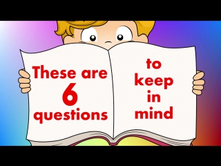 6 Questions - Fun Reading  Writing Comprehension Strategy For Kids - Jack Hartmann