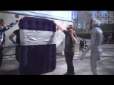 The Duct Tape Suit Challenge! - Will it Hold - The Dudesons