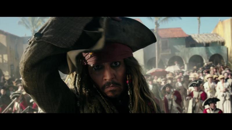 Пираты Карибского моря: Мертвецы не рассказывают сказки - второй трейлер