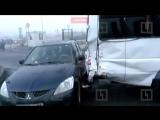 На Софийской улице в аварии с маршруткой пострадали трое пассажиров