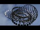 Кинетическая ветряная скульптура из нержавеющей стали Энтони Хоу/ Wind kinetic sculpture by A.Howe