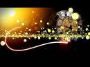 Футаж, световые линии, частицы, часы