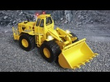 The Bulldozer is sick! The Excavator in the City l Cartoons for Children