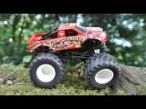 New Monster Truck Vs Color Monster Trucks For Kids - Children Cartoon - Real Car Story