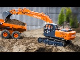 Cartoons for children JCB Excavator and New Truck w Real Diggers Trucks Cartoon for Kids