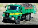 Видео для детей. Грузовик Трактор и Кран. Мультики про Строительные машинки