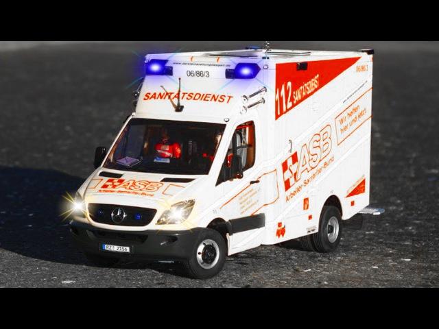 Çizgi film - AMBULANS, Polis arabası ve İtfaiye kamyonu - Acil durum araçları