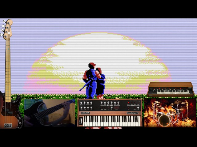Ninja Gaiden (NES) - Unbreakable Determination (Cover)