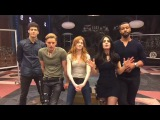 Special announcement LIVE from the Matthew Daddario and the Shadowhunters cast!