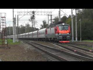 Электровоз ЭП20-034 с поездом № 144 Москва - Кисловодск