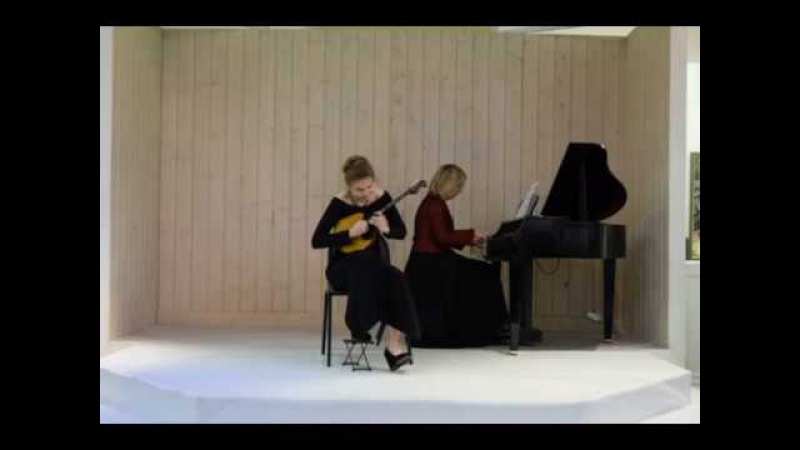 Э.Эльгар Романс. Дарья Будагова-домра Виктория Спичак- фортепиано