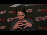 JOHN WICK 2 KEANU REEVES New York Comic Con SOUNDBITES
