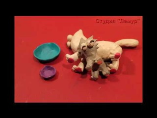 Simon's Cat plasticine cartoon2017 (Кот Саймона пластилиновая версия 2017)