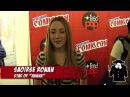 Press Line Interview Cast Director of Hanna
