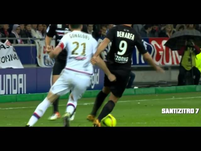 Hatem Ben Arfa Vs Olympique Lyonn (Away) 15042016