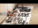 Russia: FSB arrest smugglers allegedly receiving arms from USA