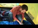 Спальный мешок увеличенный одеяло с подголовником для кемпинга NovaTour «Карелия 300 XL»
