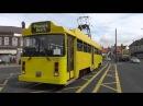 Необычные трамваи ездят по городу Блэкпул