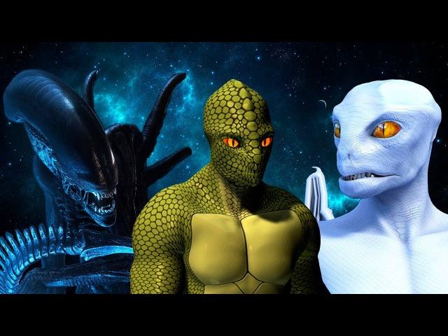 Существуют ли инопланетяне, как в фильме ЧУЖОЙ Опасны ли ксеноморфы, рептилоиды, драконианцы