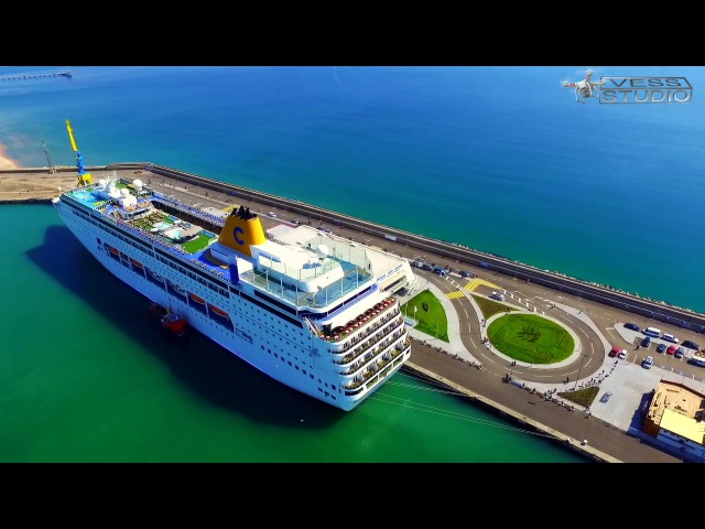 Круизный сезон 2017 в Бургасе открыт / Costa NeoRiviera Cruise in Burgas