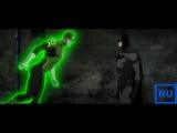 Бэтмен знакомится с Зеленым фонарем.Лига справедливости:Война 2014