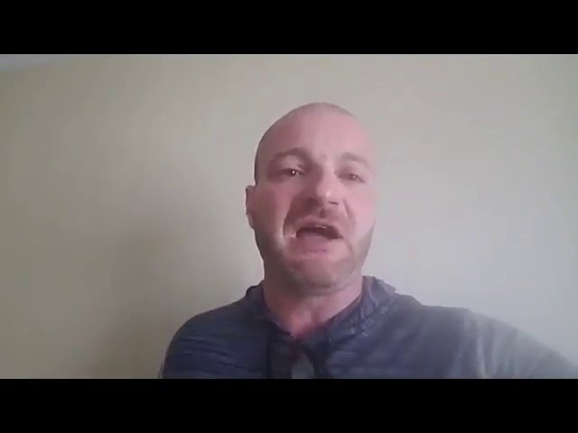 American Terrorist Christopher Cantwell balls his eyes out