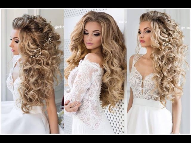Wedding hairstyle Prom Hairstyle For Medium Long Hair - Bridal updo