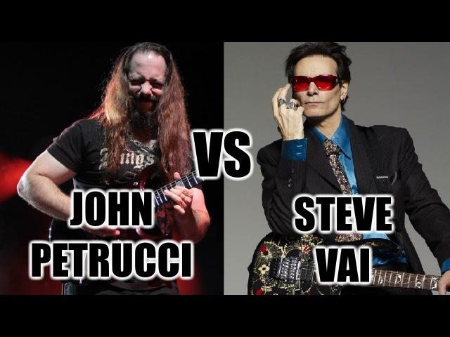 John Petrucci Vs Steve Vai
