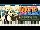 Naruto Shippuden - Opening 16 [Slow + Sheet Music] (Piano Tutorial)