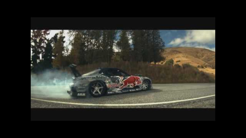Mad Mike Drifting To Dubstep Mazda RX7 Red Bull Alpha Edit