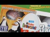 Kinder SURPRISE Eggs PENGUINS Of MADAGASCAR Unboxing LIMITED Edition  3S
