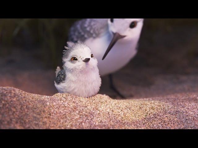 Короткометражный мультфильм Piper 2016 Песочник в 720р от Disney и Pixar