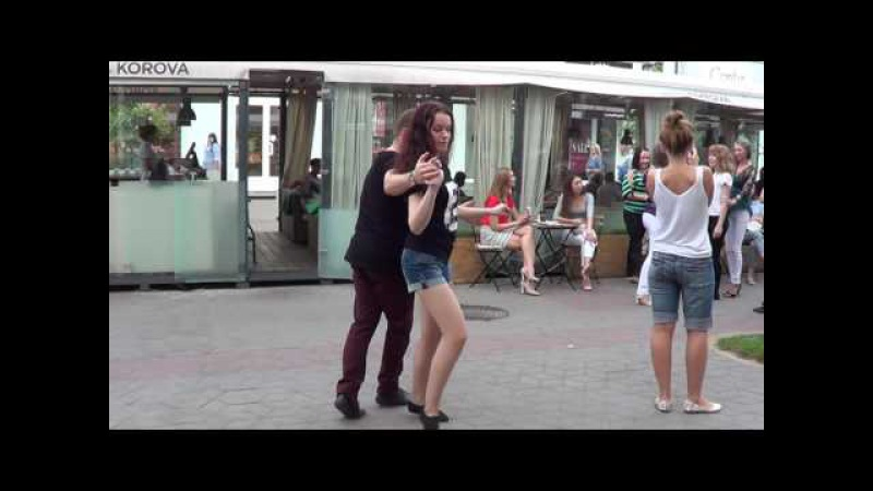 Сальса Бачата на улице! 2 (cover версия) Salsa, Bachata on the street! Salsa, Bachata en la calle!