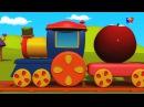 Боб Фрукты Поезд | рифмы песни | детские стихи | Rhymes in Russia | Fruits Song | Bob Fruits Train