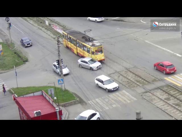 ДТП на перекрестке Мерлина - Гастелло 10.08.17