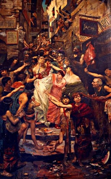 Поругание толпой императора Виттелия