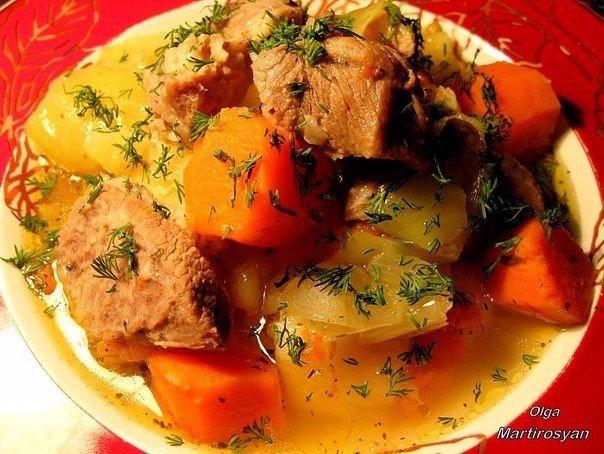 Домлама (вариант) Автор: Ольга Мартиросян Блюдо среднеазиатской кухни, поэтому