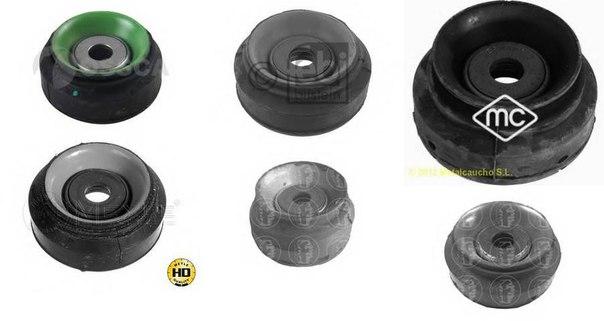 Опора стойки амортизатора для AUDI 90 (89, 89Q, 8A, B3)
